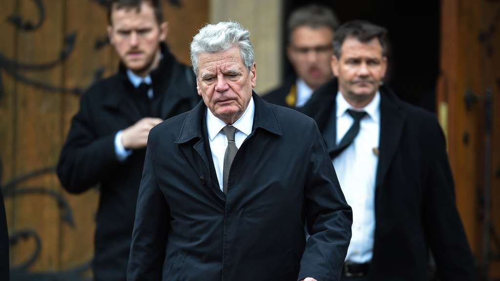 Germanwings, Absturz, Trauerfeier, Joachim Gauck, Bundespräsident
