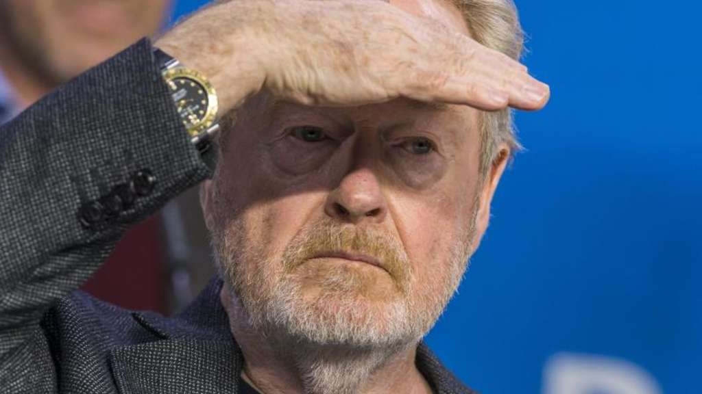 Er wird der 2564. Stern auf Hollywoods Walk of Fame: Filmemacher Ridley Scott. Foto: Warren Toda