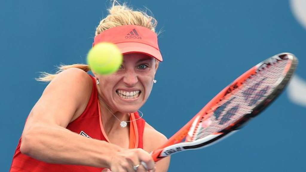 Angelique Kerber gewann in Brisbane gegen Madison Brengle aus den USA 6:3, 6:0. Foto: Dave Hunt