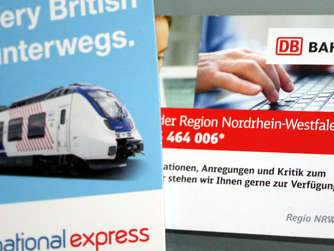 National Express: RE 7 fährt ohne Passagiere ab
