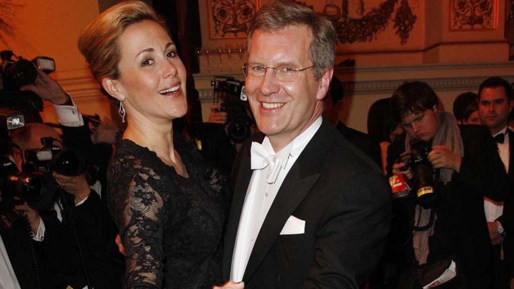 Bettina und Christian Wulff auf dem Semperopernball in Dresden (2011). Foto: Arno Burgi