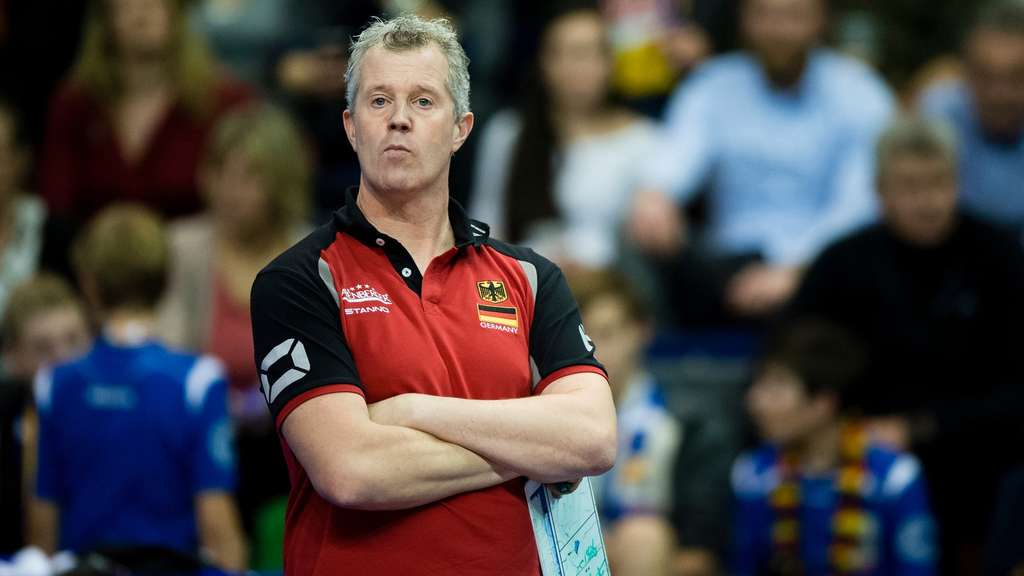 Volleyball-Bundestrainer Vital Heynen