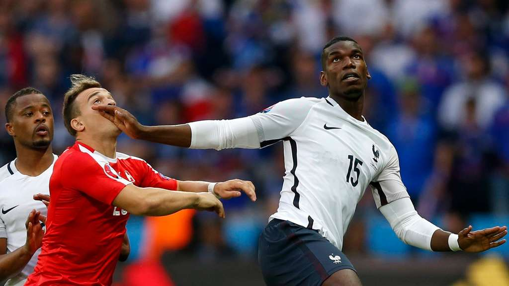 EURO 2016 - Group A Switzerland vs France