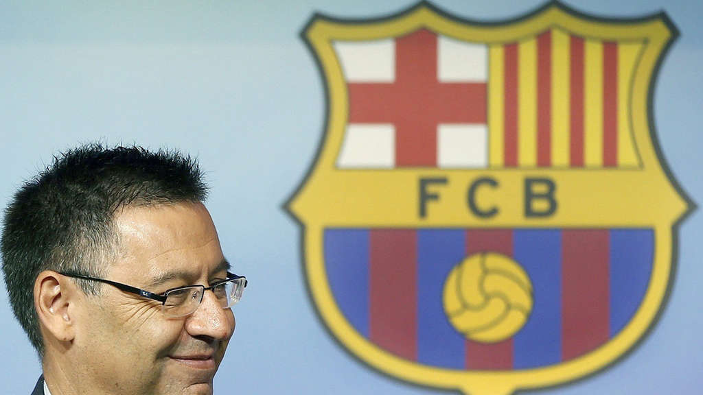 FC Barcelona balance press conference