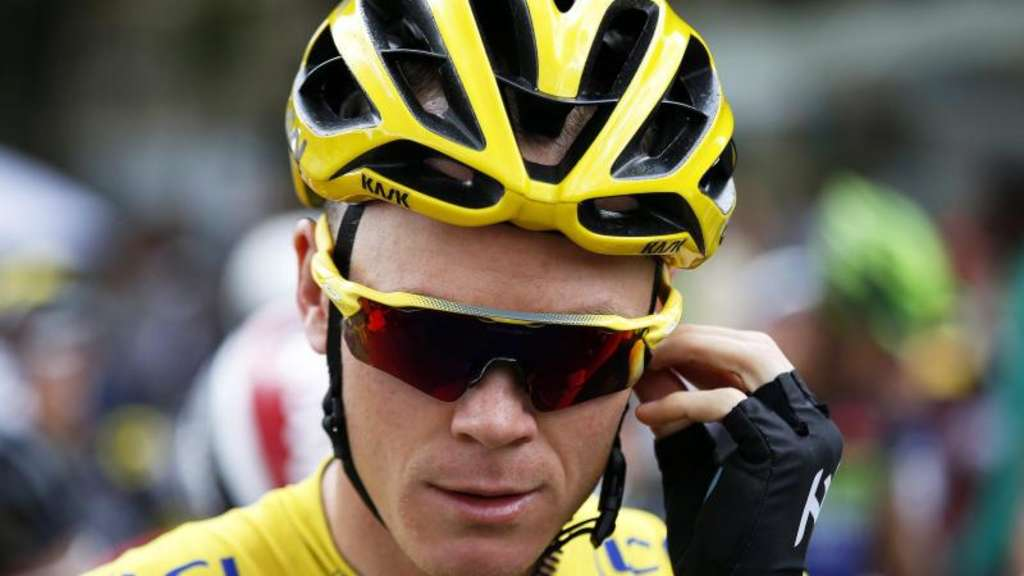 Christopher Froome hat bei der Tour de France so gut wie gewonnen. Foto: Kim Ludbrook