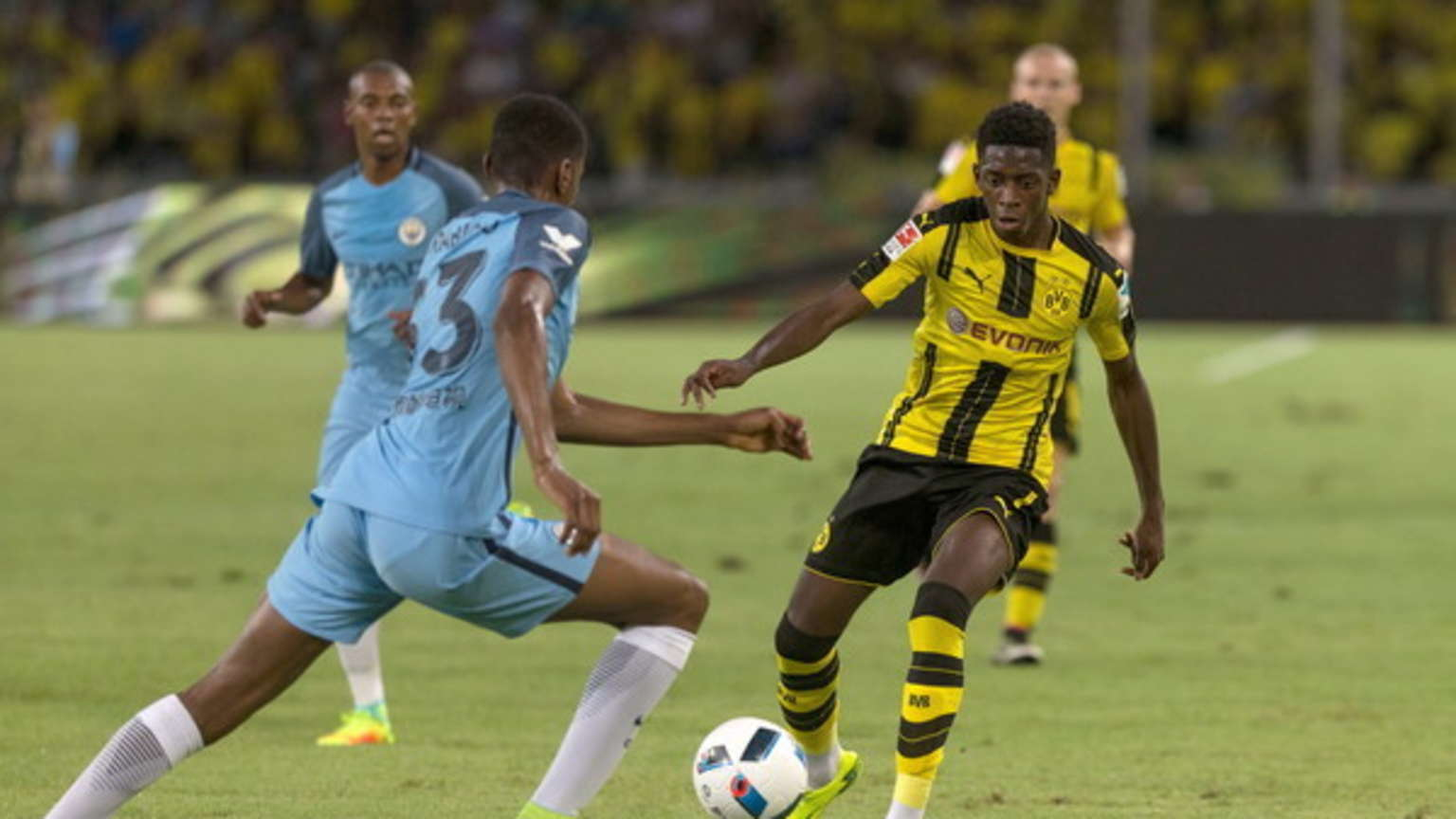 Video: Borussia Dortmund vs Manchester City
