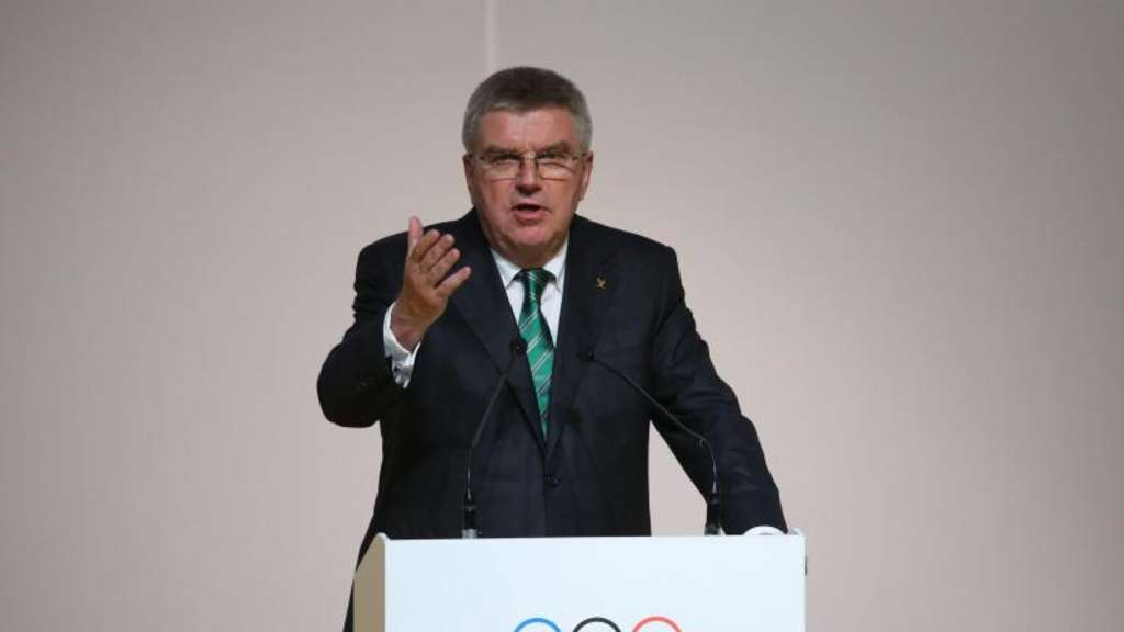 IOC-Präsident Thomas Bach in Rio de Janeiro. Foto: How Hwee Young