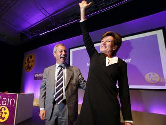 "Neue Ukip-Chefin Diane James will keinen ""Brexit light"""