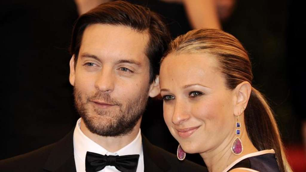 Tobey Maguire und Jennifer Meyer bei einer Gala 2012 in New York. Foto: Justin Lane