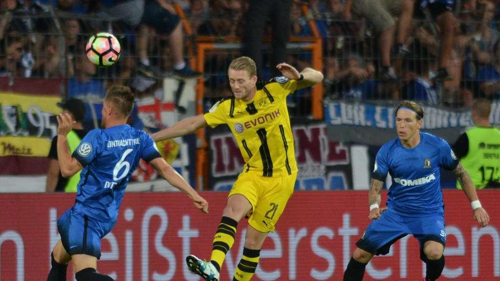 So Sehen Sie Die Dfb Pokal Partie Zwischen Borussia Dortmund Und