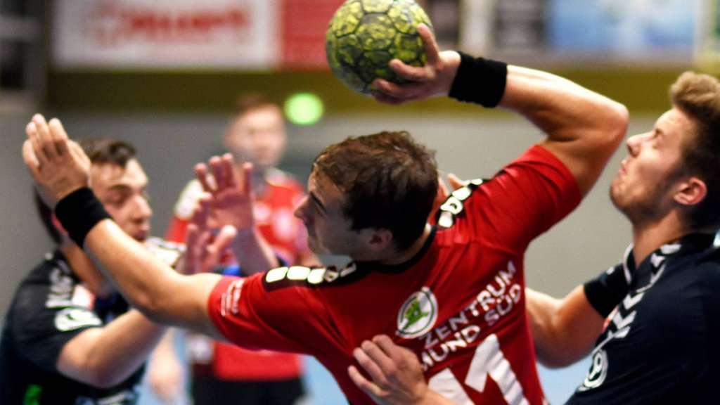 Lukas Florian stemmte sich bis zum Schluss und mit 13 Treffern gegen die Niederlage - Foto: Baur