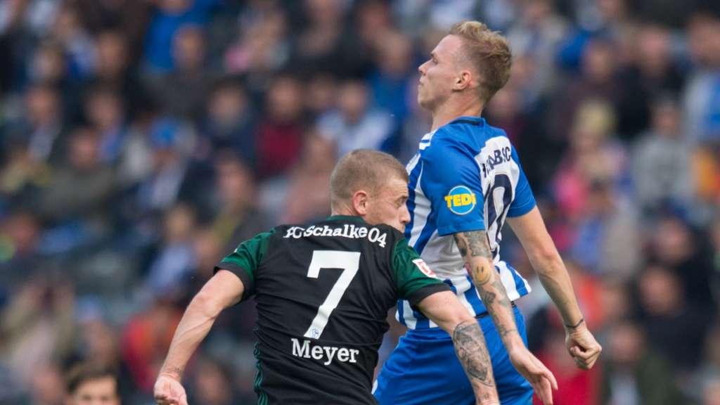 Fc Schalke 04 Max Meyer In Berlin Mit Kämpfer Gen In Neuer Rolle