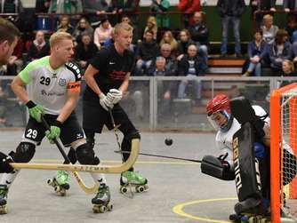 Rollhockey Bundesliga: Germania Herringen - Moskitos Wuppertal 23:3