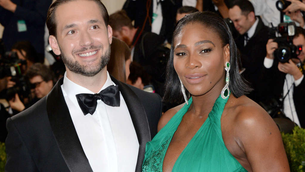 Serena Williams und Alexis Ohanian