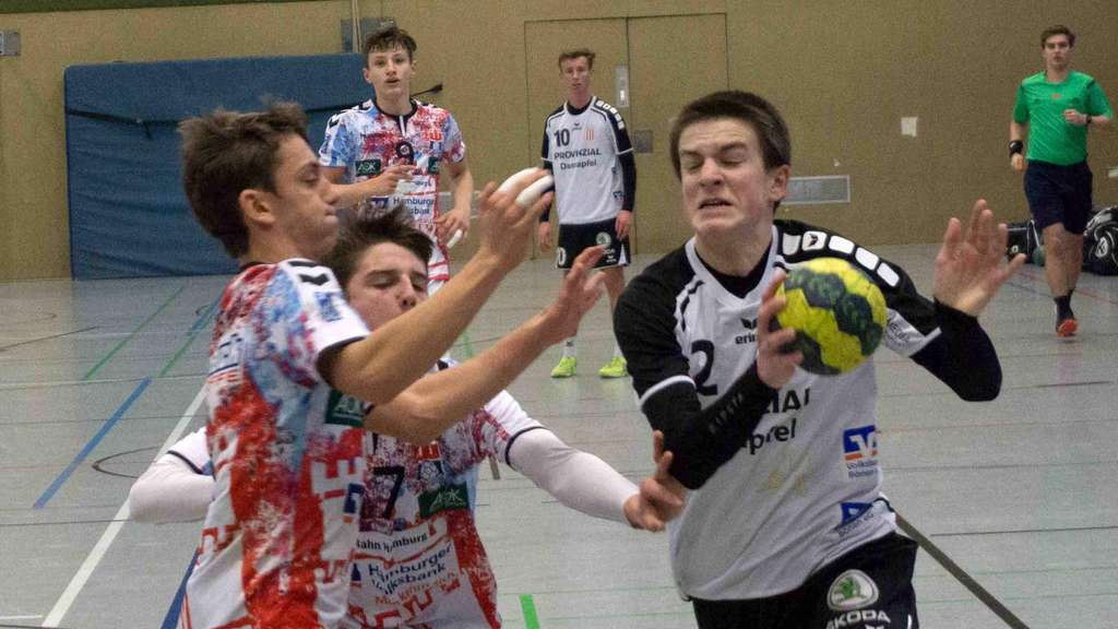 Gegen den HSV Hamburg gewann der RSV beim Sauerland-Cup in Menden - Foto: Wollek