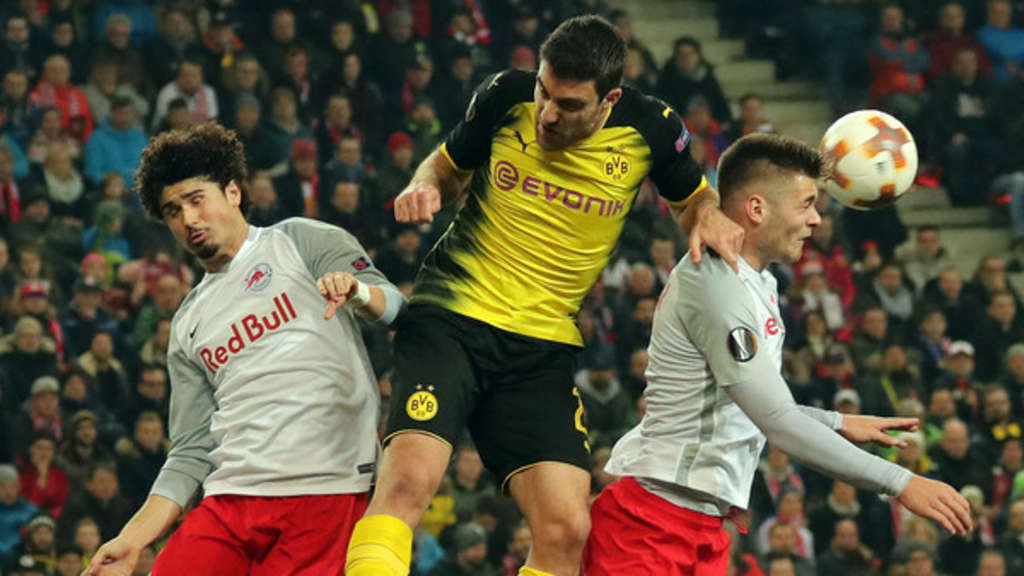 Fc Salzburg Borussia Dortmund Das Rückspiel In Der Europa League