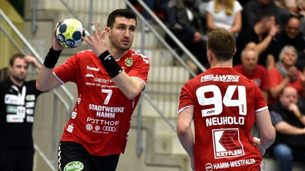 Handball 2 Bundesliga Asv Hamm Westfalen Zu Gast Bei Hbw Balingen