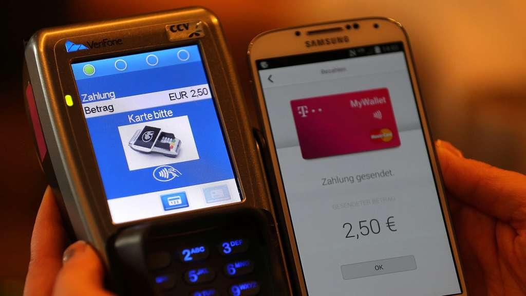 Kreditkartendaten per NFC auslesen