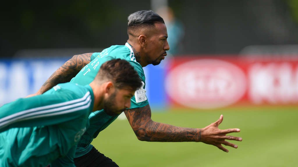 Jerome Boateng im DFB-Training.