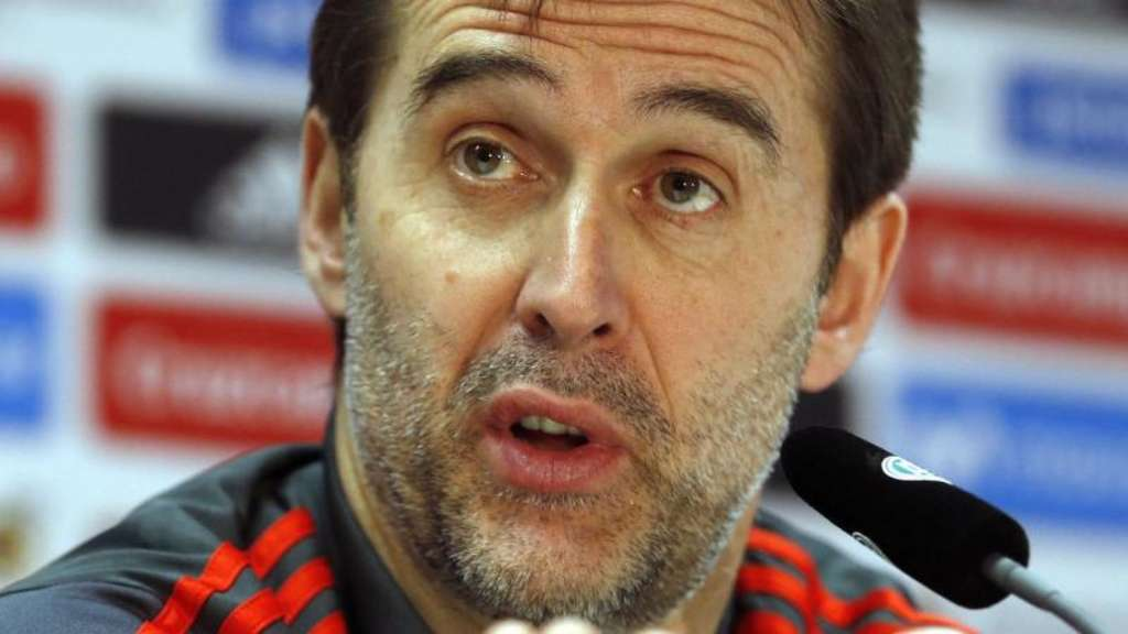 Spaniens Nationaltrainer Julen Lopetegui wechselt zu Real Madrid.
