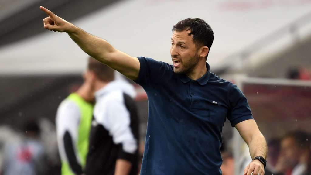 Domenico Tedesco hat mit Schalke in Essen gewonnen.
