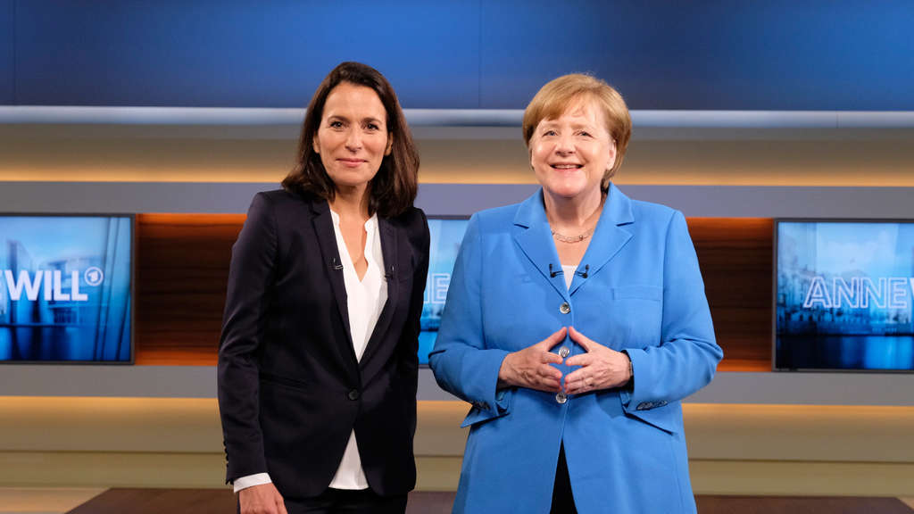 """Anne Will"" - Talkgast Angela Merkel"
