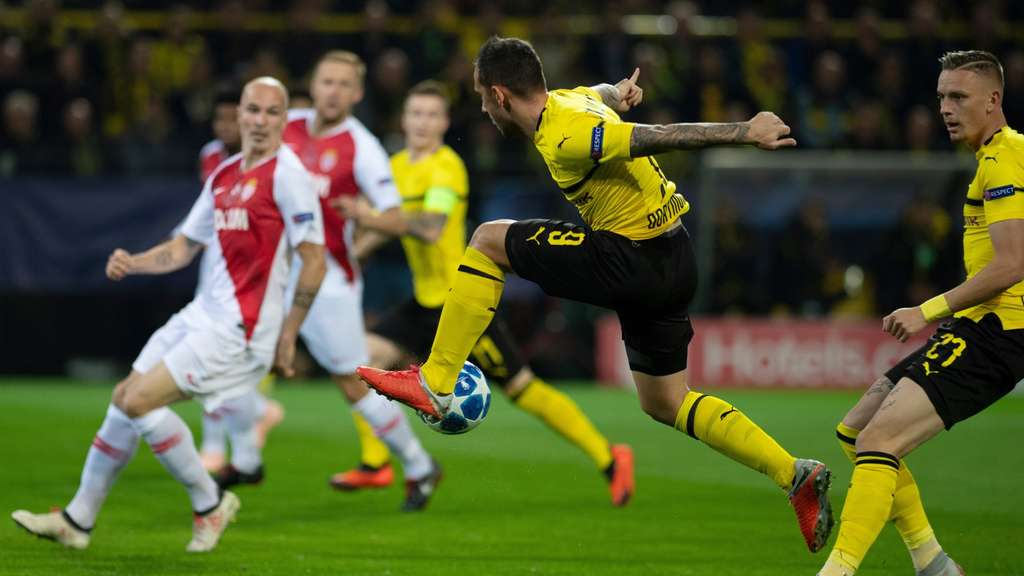 Dortmund Monaco Ticker
