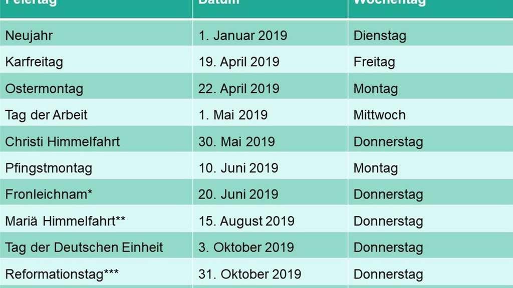 Reformationstag Und Allerheiligen 2018 Was Ist Wo Ein Feiertag