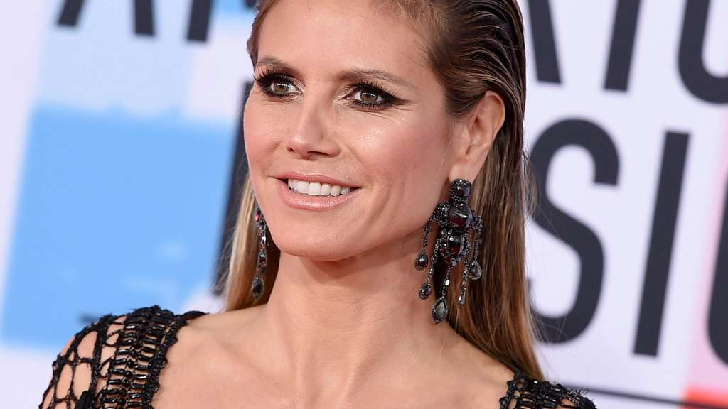 Heidi Klum bei den American Music Awards 2018 in Los Angeles.