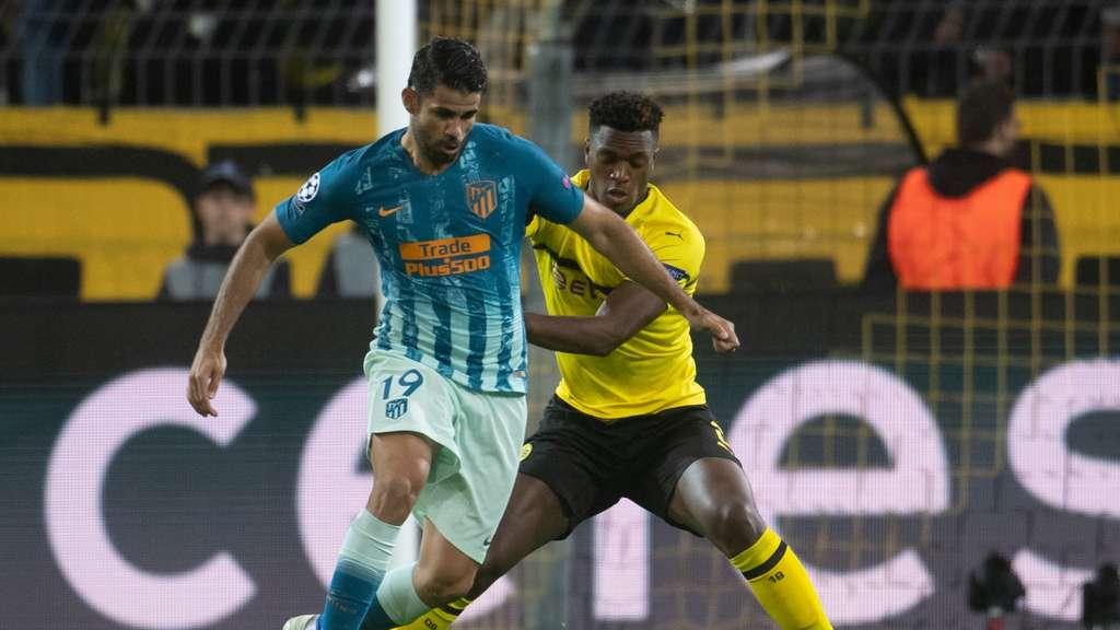 Borussia Dortmund Atletico Madrid Das Champions League Spiel Bvb