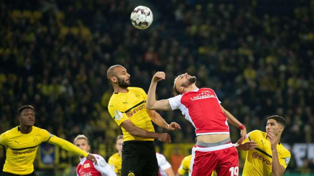 Borussia Dortmund 1 Fc Union Berlin Der Dfb Pokal Im Live Ticker