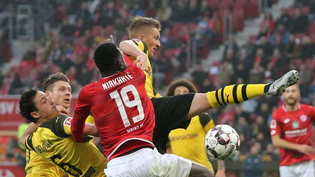 1 Fsv Mainz 05 Gegen Borussia Dortmund Der 12 Bundesliga Spieltag