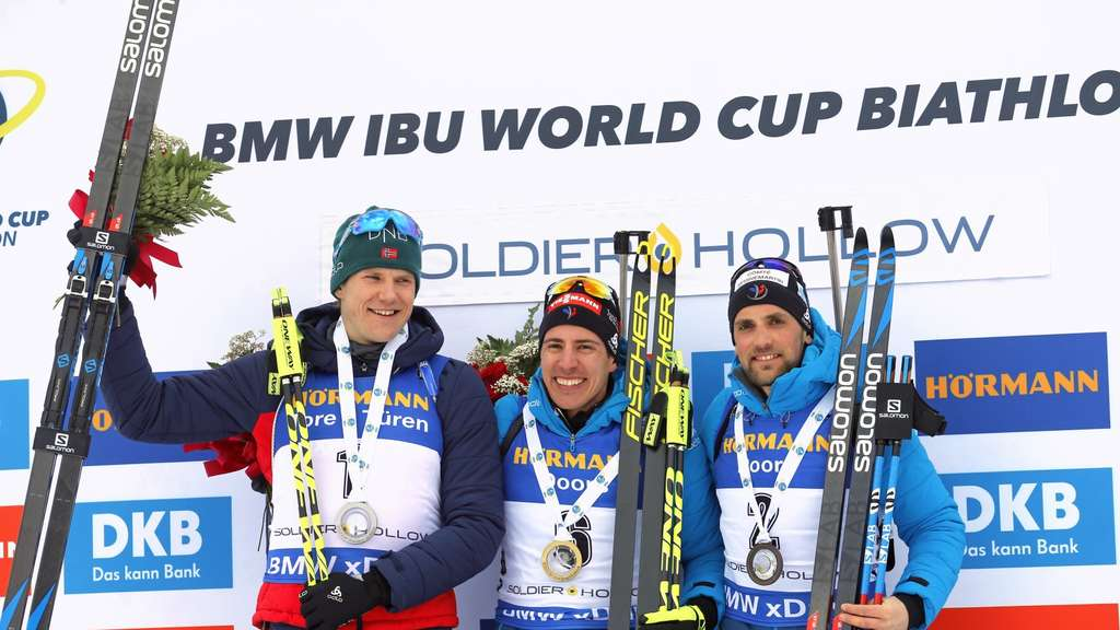 Biathlon-Weltcup 2019 in Soldier Hollow: Deutsche Athleten gut in Form