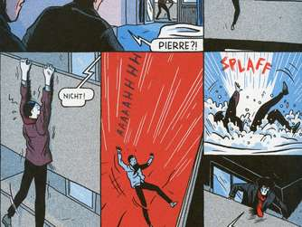 "Lucas Hararis Graphic Novel ""Der Magnet"""