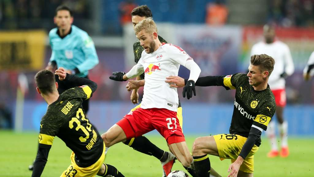 Ticker: Dortmund besiegt Chancentod RB Leipzig