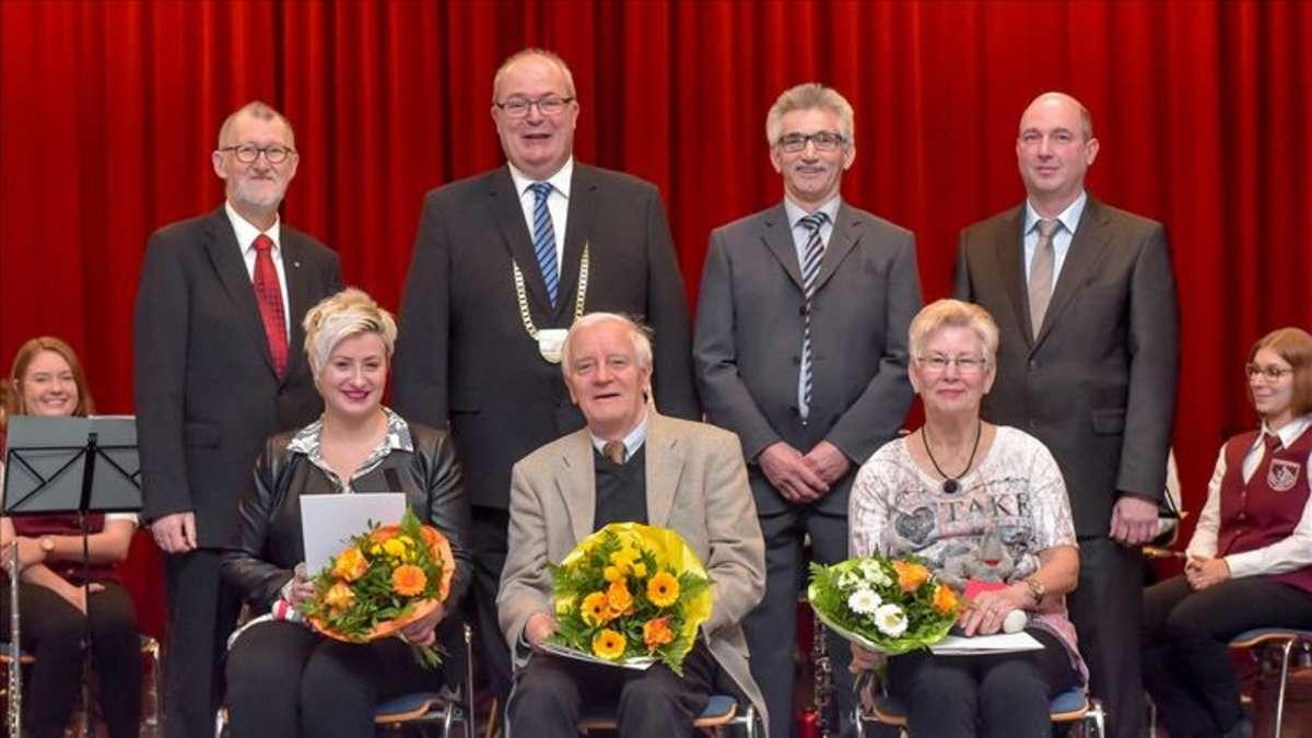Neujahrsempfang Stadtbezirk Herringen, Aula der Jahnschule