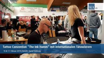 Tattoo-Convention in der Von-Thünen-Halle Hamm 2019