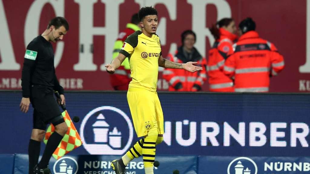 9dd491a40424bd Borussia Dortmund und Jadon Sancho wirkten in der Offensive ideenlos.