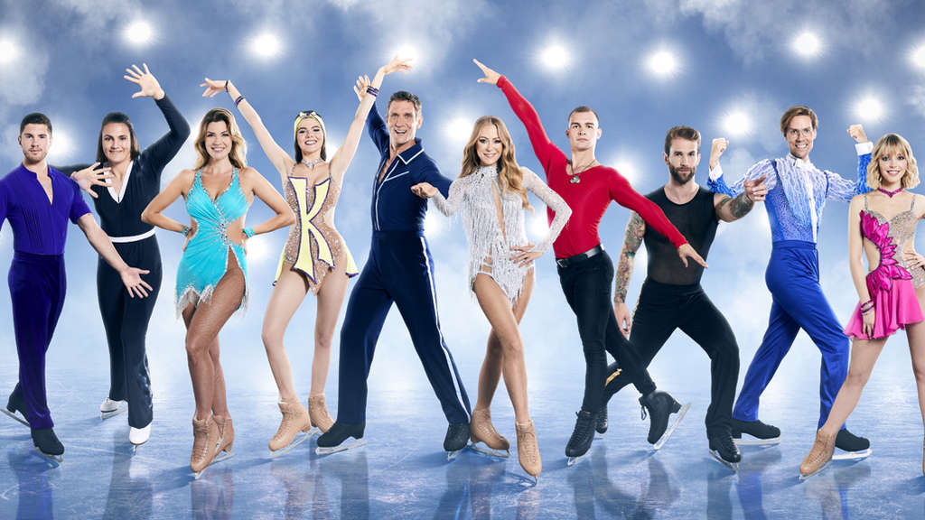 "Die zehn ""Dancing on Ice""-Prominenten 2019."