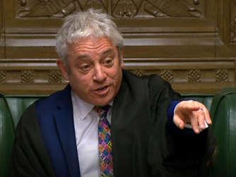 c1709edb74bbd Dämpfer für Mays Brexit-Pläne  Wut auf britischen Parlamentspräsident
