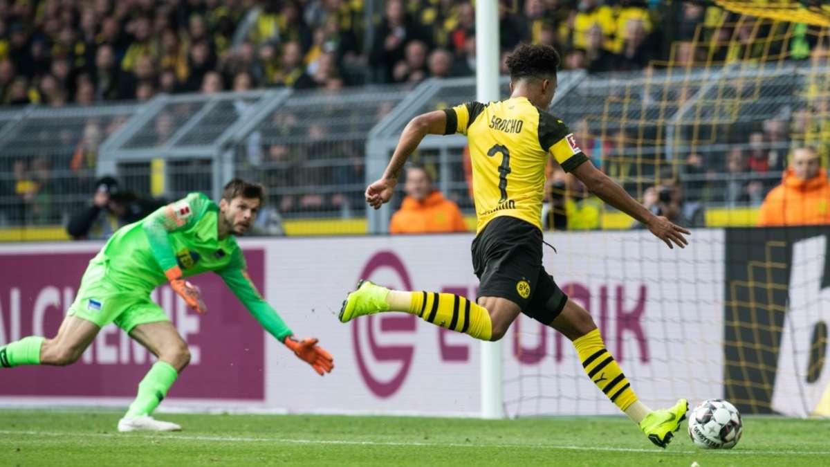 Borussia Dortmund Gegen Hertha Bsc Berlin