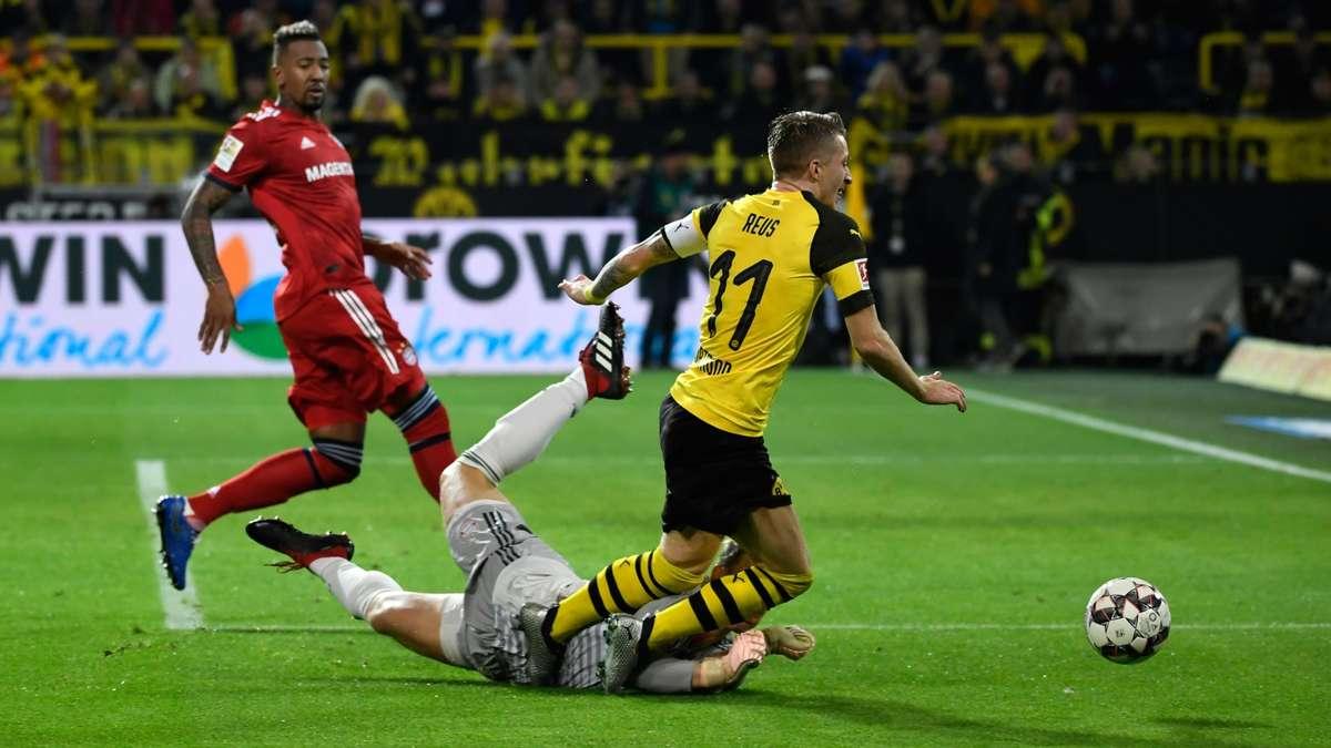 Bvb Im Tv Live Borussia Dortmund Gegen Fc Bayern Munchen Im