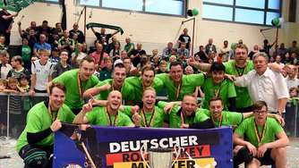 SK Germania Herringen bejubelt Deutsche Meisterschaft im Rollhockey 2019