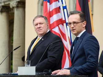 Pompeo in Berlin: Differenzen bleiben, Ton wird moderater