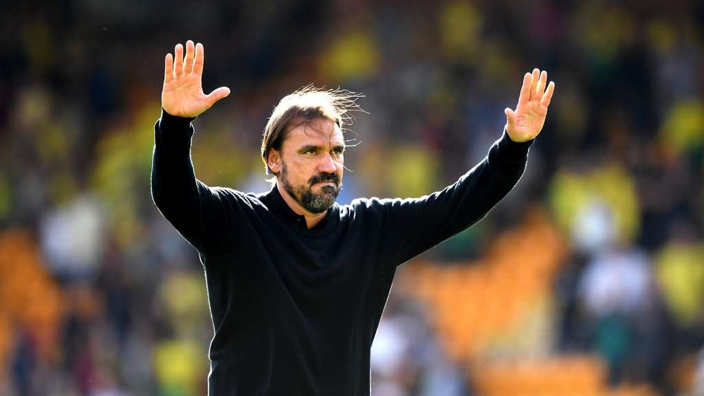 Daniel Farke ist aktuell Teammanager von Norwich City in der Premier League.