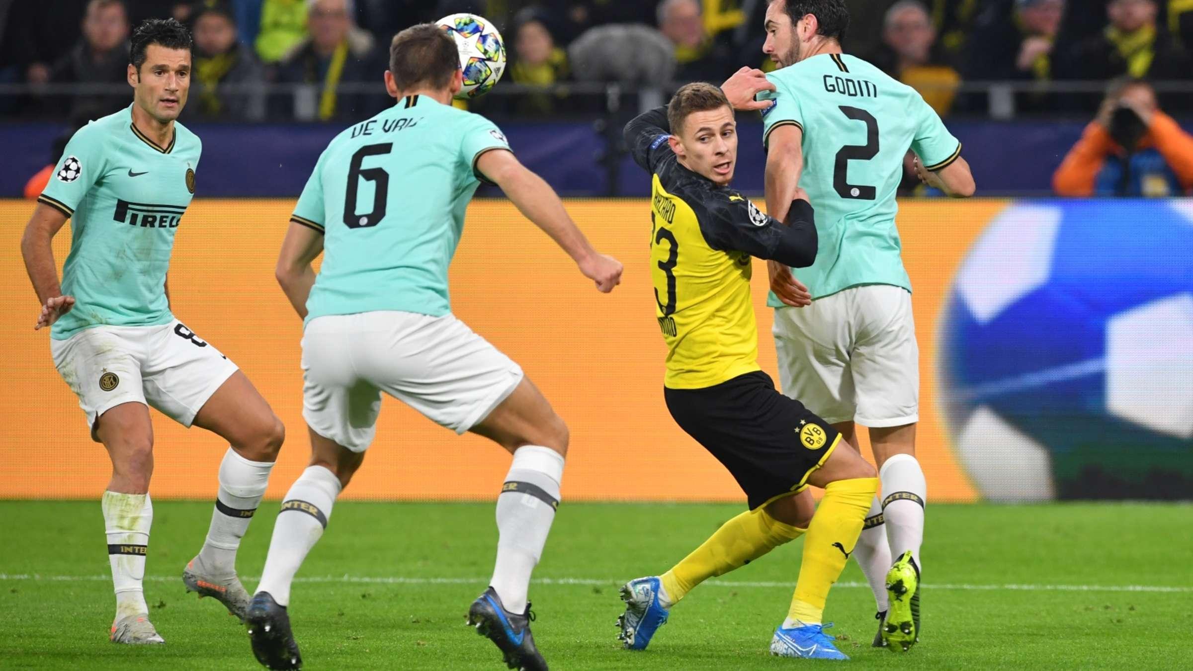 Champions League Borussia Dortmund Gegen Inter Mailand