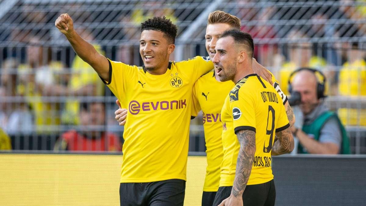Aufstellung Dortmund Bayern