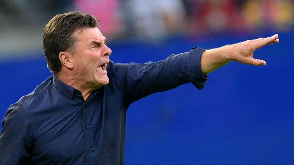 Im Video: HSV-Trainer Dieter Hecking als