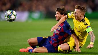 Fc Barcelona Borussia Dortmund Champions League Mit Dem