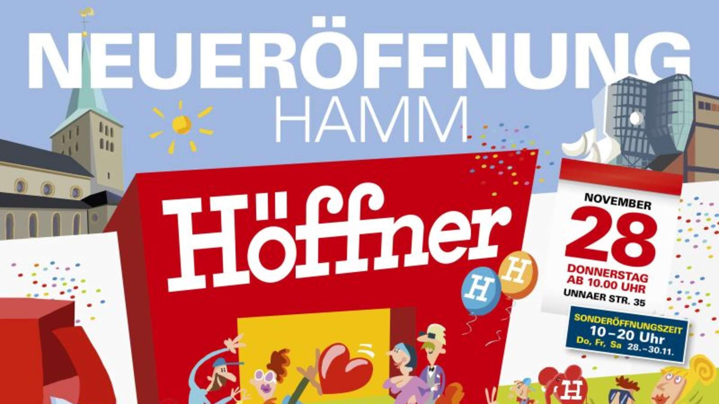 Neu in Hamm: Möbel Höffner eröffnet am 28. November   Hamm